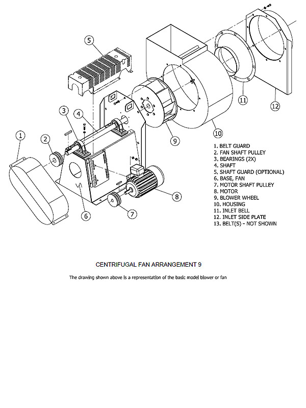 Centrifugal Fan Wiring Diagram